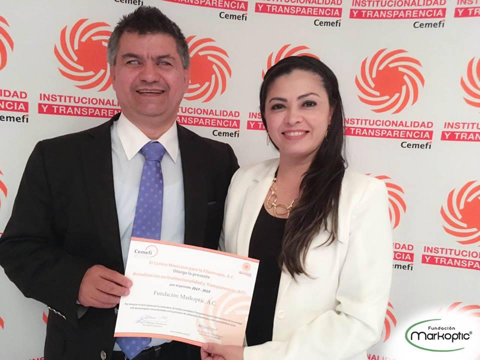 Renovación del Premio de Acreditación en Institucionalidad y Transparencia