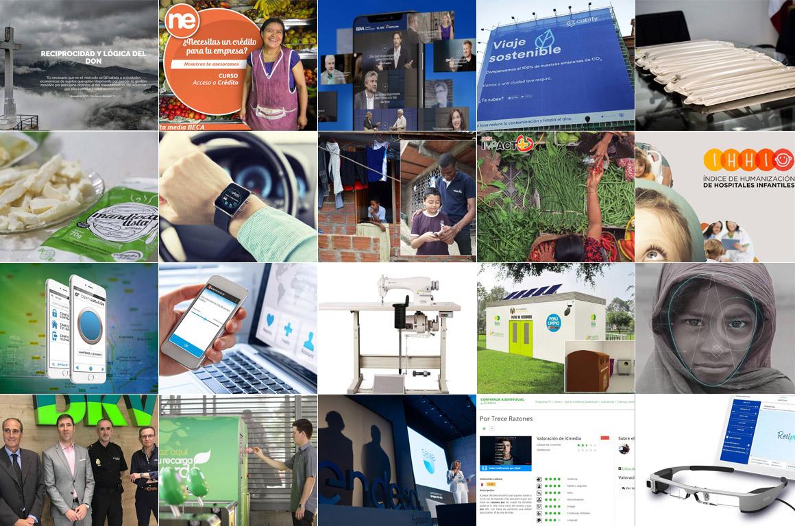 ¡Estamos en las 20 iniciativas sociales más innovadoras en Latinoamérica y España!